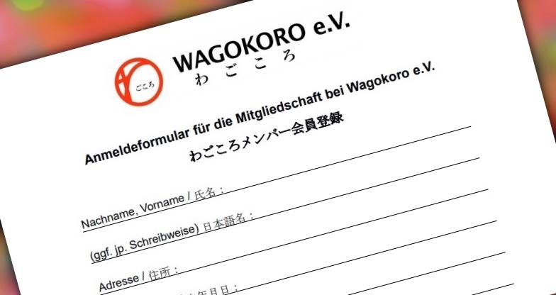 Mitglied werden bei Wagokoro e.V.