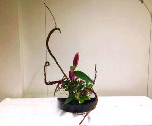 冬のいけばな教室・Ikebana Workshop -Winter- @ Oberkassel, Düsseldorf